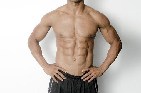体脂肪率の理想は腹筋が割れて見える10%以下