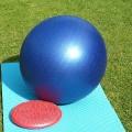バランスボールの筋トレで腸腰筋を鍛える方法