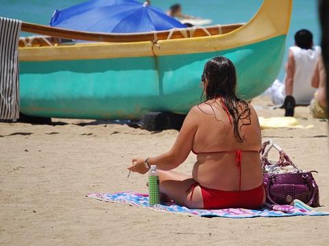 下半身太りの原因は内蔵下垂による体液の停滞
