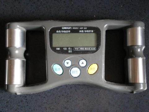 体脂肪計で全身の体脂肪率がわかる裏ワザ