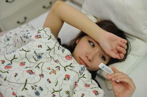インフルエンザは熱の下げすぎに注意が必要