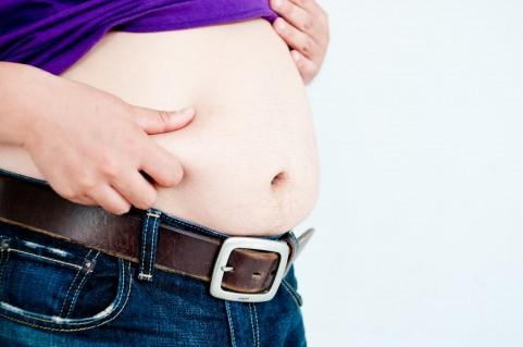 内臓脂肪レベルはお腹をつかめばだいたいわかる