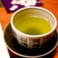 インフルエンザ予防には10分に1回飲む緑茶