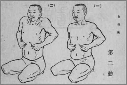 自彊術でインナーマッスル腹筋を鍛える動作とは