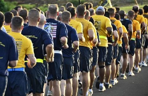 長距離走では大きい筋肉は呼吸循環系にマイナス
