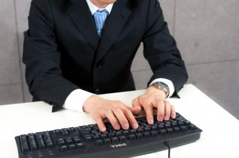 肩こり原因はキーボードを打つときのひじの位置