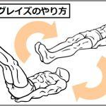 下腹部に効く筋トレがレッグレイズ