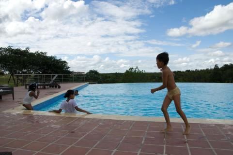 水中ウォーキングのほうが水泳よりも痩せられる