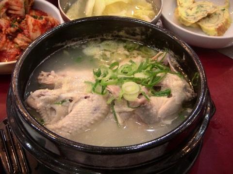 サムゲタン効果でインフル治すならスープを飲む