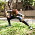 内転筋のストレッチはおなじみ相撲の股割り動作