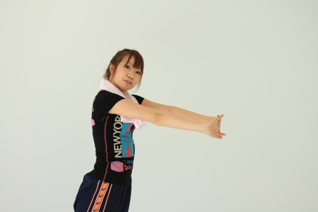 ラジオ体操ダイエットはお辞儀の姿勢のキープ