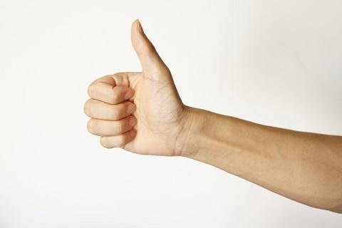 平衡感覚を鍛えるなら親指を立てて首を振るべし
