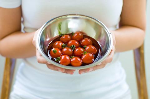 日焼けのアフターケアには1日30個のミニトマト