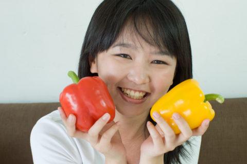 ポリフェノール効果のために野菜は丸ごと食べる
