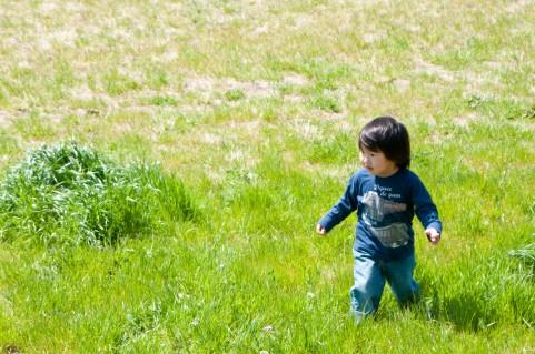 体幹を鍛えるのに非常に重要な幼少期の外遊び