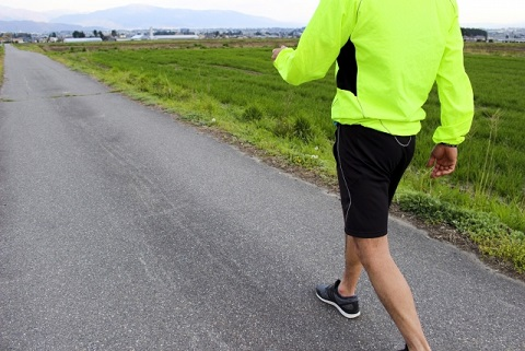 体脂肪を減らすウォーキングの2つのテクニック